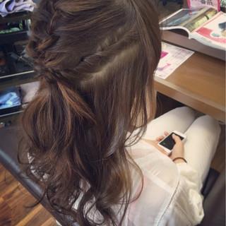 ミディアム アッシュ 大人かわいい 簡単ヘアアレンジ ヘアスタイルや髪型の写真・画像 ヘアスタイルや髪型の写真・画像
