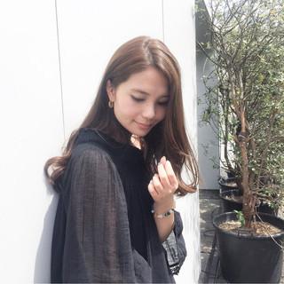 フェミニン 外国人風 ピュア ナチュラル ヘアスタイルや髪型の写真・画像