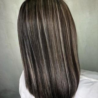 切りっぱなしボブ ナチュラル 外国人風カラー ミディアム ヘアスタイルや髪型の写真・画像