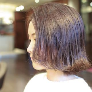 ブリーチオンカラー ナチュラル ボブ ブリーチ必須 ヘアスタイルや髪型の写真・画像