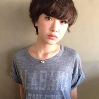 ストリート 秋 モテ髪 ナチュラル ヘアスタイルや髪型の写真・画像
