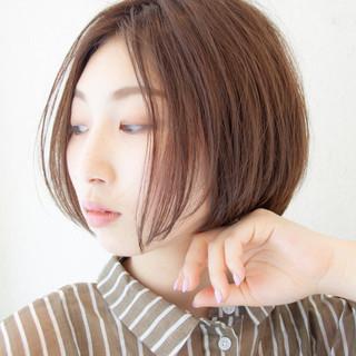 レイヤーカット 髪質改善 ヘアカラー ナチュラル ヘアスタイルや髪型の写真・画像