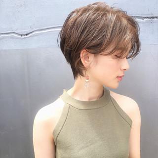 色気 ショート 涼しげ ヘアアレンジ ヘアスタイルや髪型の写真・画像 ヘアスタイルや髪型の写真・画像