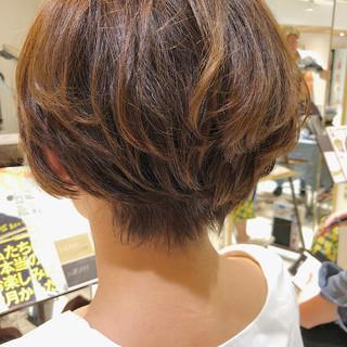 小顔ショート ショートヘア ハンサムショート ショート ヘアスタイルや髪型の写真・画像