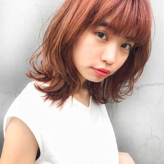 前髪あり ヘアアレンジ デート フェミニン ヘアスタイルや髪型の写真・画像