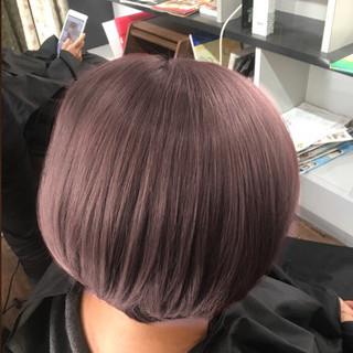 ブリーチオンカラー 3Dハイライト ブリーチカラー ブリーチ ヘアスタイルや髪型の写真・画像