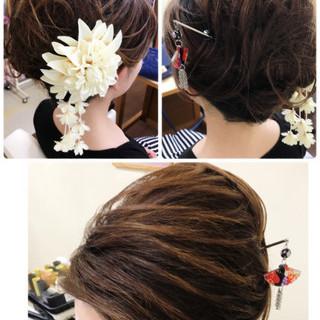 ロング エレガント 夜会巻 大人女子 ヘアスタイルや髪型の写真・画像 ヘアスタイルや髪型の写真・画像