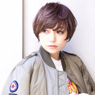 ストリート 大人女子 外国人風 小顔 ヘアスタイルや髪型の写真・画像