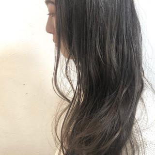 ヘアアレンジ デート 黒髪 ロング ヘアスタイルや髪型の写真・画像