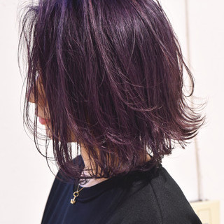 ローライト バレイヤージュ グレージュ 外国人風カラー ヘアスタイルや髪型の写真・画像