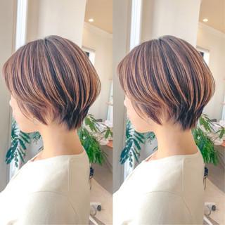 フェミニン ミニボブ スタイリング動画 ショートボブ ヘアスタイルや髪型の写真・画像