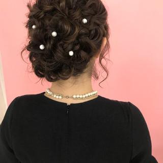 色気 大人女子 ヘアアレンジ ロング ヘアスタイルや髪型の写真・画像