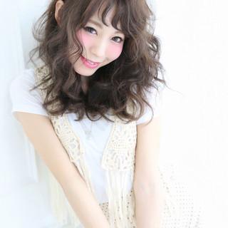外国人風 ゆるふわ フェミニン 大人かわいい ヘアスタイルや髪型の写真・画像
