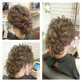 ハーフアップ 外国人風 大人かわいい ヘアアレンジ ヘアスタイルや髪型の写真・画像