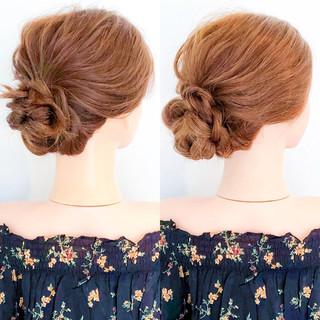 ヘアアレンジ ショート 上品 ロング ヘアスタイルや髪型の写真・画像