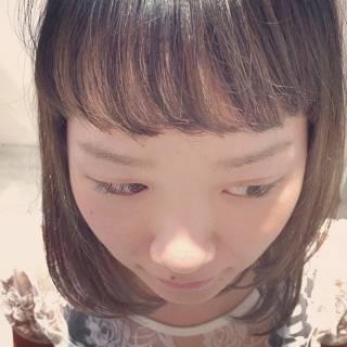 グラデーションカラー 愛され オン眉 秋 ヘアスタイルや髪型の写真・画像 ヘアスタイルや髪型の写真・画像