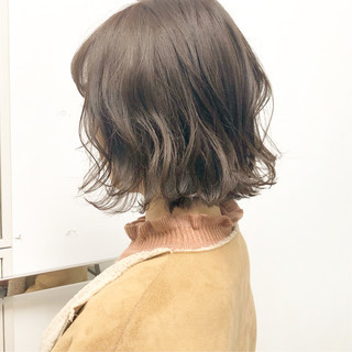 簡単ヘアアレンジ ナチュラル ボブ デート ヘアスタイルや髪型の写真・画像