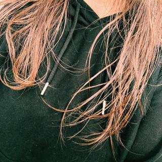 セミロング 外国人風カラー ナチュラル 透明感カラー ヘアスタイルや髪型の写真・画像