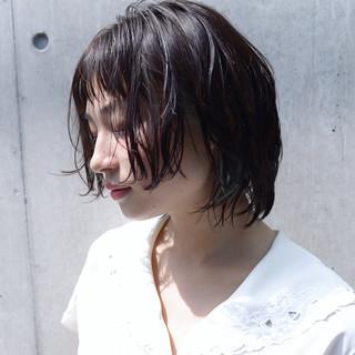抜け感 アッシュ ナチュラル 透明感 ヘアスタイルや髪型の写真・画像