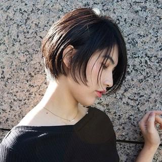 ナチュラル 阿藤俊也 ハンサムボブ グラボブ ヘアスタイルや髪型の写真・画像