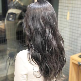 外国人 エレガント ロング 外国人風カラー ヘアスタイルや髪型の写真・画像