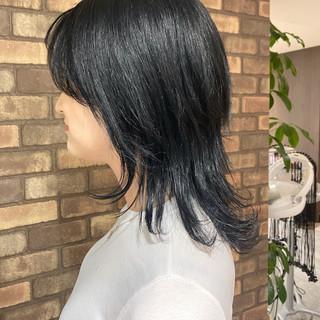 透明感 イルミナカラー 艶髪 ナチュラル ヘアスタイルや髪型の写真・画像