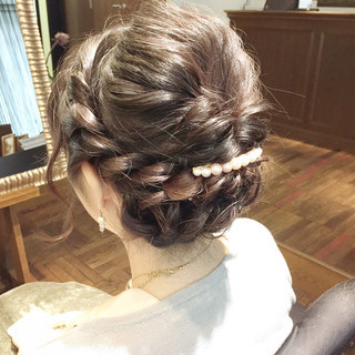 セミロング ヘアアレンジ ショート 外国人風 ヘアスタイルや髪型の写真・画像 ヘアスタイルや髪型の写真・画像
