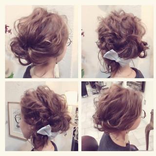 ボブ アッシュ グラデーションカラー 簡単ヘアアレンジ ヘアスタイルや髪型の写真・画像 ヘアスタイルや髪型の写真・画像