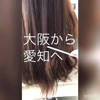 ナチュラル ヘアケア 美髪 ロング ヘアスタイルや髪型の写真・画像