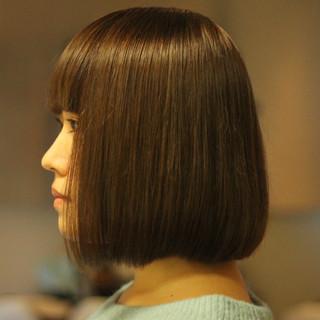サラサラ ナチュラル ツヤツヤ 大人可愛い ヘアスタイルや髪型の写真・画像