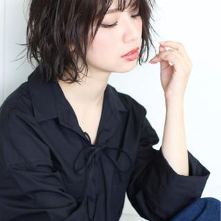 大人女子 セクシー モード ショート ヘアスタイルや髪型の写真・画像