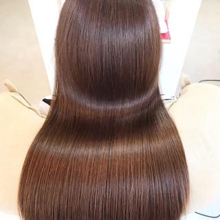 髪質改善カラー 髪質改善 髪質改善トリートメント ロング ヘアスタイルや髪型の写真・画像 ヘアスタイルや髪型の写真・画像