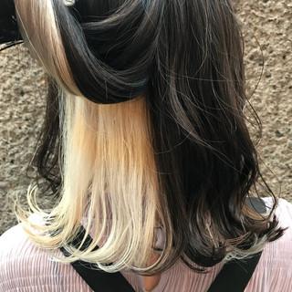 切りっぱなし ゆるふわ ストリート アンニュイ ヘアスタイルや髪型の写真・画像