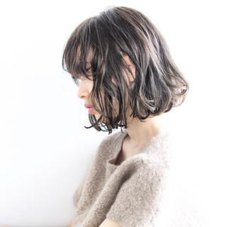 アッシュ モード フェミニン 外国人風 ヘアスタイルや髪型の写真・画像