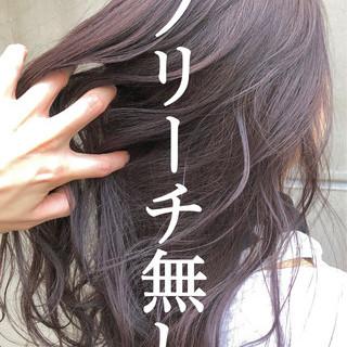 インナーカラー ウルフカット ショートボブ ナチュラル ヘアスタイルや髪型の写真・画像