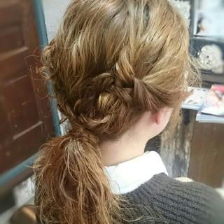 大人かわいい ショート ヘアアレンジ 外国人風 ヘアスタイルや髪型の写真・画像 ヘアスタイルや髪型の写真・画像