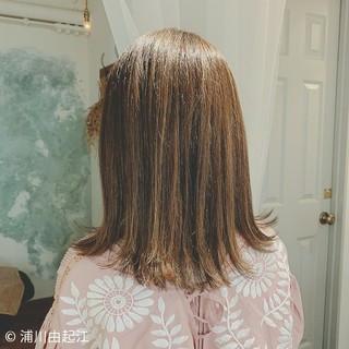 大人かわいい 秋冬スタイル 外ハネボブ ナチュラル ヘアスタイルや髪型の写真・画像