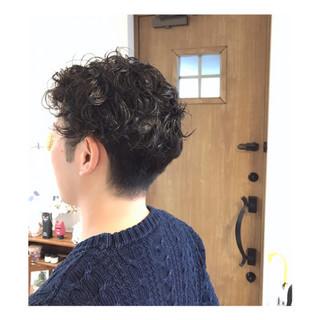 坊主 ショート ボーイッシュ モード ヘアスタイルや髪型の写真・画像