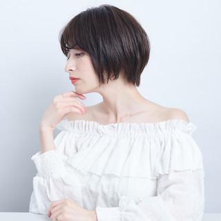 簡単スタイリング 小顔ヘア 透明感 デート ヘアスタイルや髪型の写真・画像