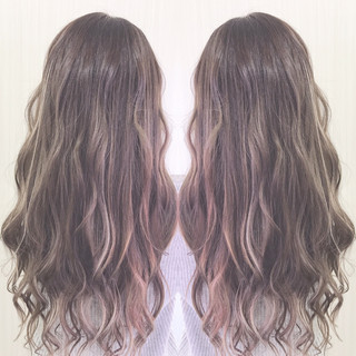 ヘアアレンジ ナチュラル ロング 外国人風カラー ヘアスタイルや髪型の写真・画像 ヘアスタイルや髪型の写真・画像