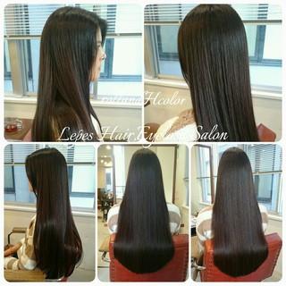 大人かわいい 暗髪 ナチュラル ストレート ヘアスタイルや髪型の写真・画像 ヘアスタイルや髪型の写真・画像
