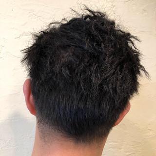 ストリート ツイスト メンズパーマ ショート ヘアスタイルや髪型の写真・画像