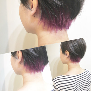 透明感 ナチュラル ショート 色気 ヘアスタイルや髪型の写真・画像 ヘアスタイルや髪型の写真・画像