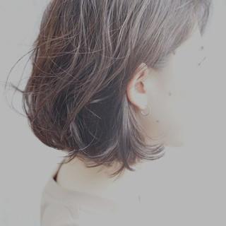 ナチュラル ショートボブ 前下がり 美シルエット ヘアスタイルや髪型の写真・画像