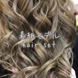 エレガント ヘアアレンジ 外国人風フェミニン ロング ヘアスタイルや髪型の写真・画像 ヘアスタイルや髪型の写真・画像