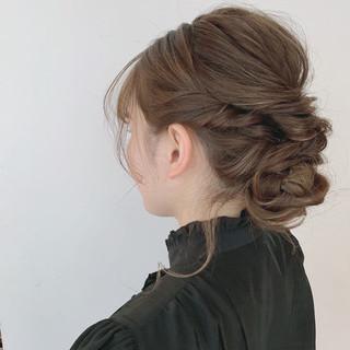 成人式 ヘアアレンジ 簡単ヘアアレンジ 結婚式 ヘアスタイルや髪型の写真・画像