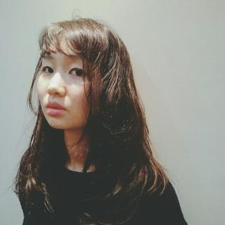 パーマ ナチュラル 外国人風 大人かわいい ヘアスタイルや髪型の写真・画像