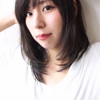 外国人風カラー ナチュラル アンニュイ デート ヘアスタイルや髪型の写真・画像