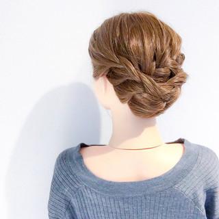 結婚式 上品 ロング デート ヘアスタイルや髪型の写真・画像 ヘアスタイルや髪型の写真・画像