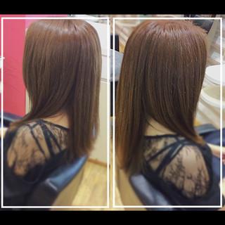 髪質改善 艶髪 大人ヘアスタイル ロング ヘアスタイルや髪型の写真・画像